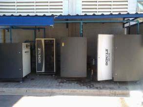 Manutenção compressor parafuso schulz
