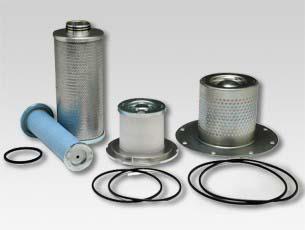 Filtro separador ar óleo compressor