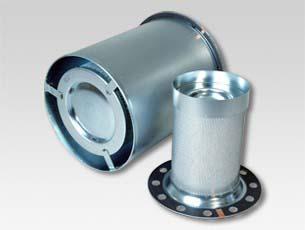 Filtro separador para compressor