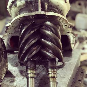 Manutenção de compressores industriais